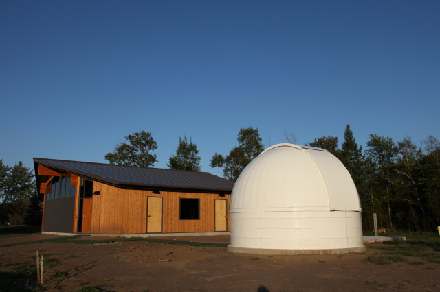 OBSERVATORY AND CLASSROOM (LOOKING EAST)