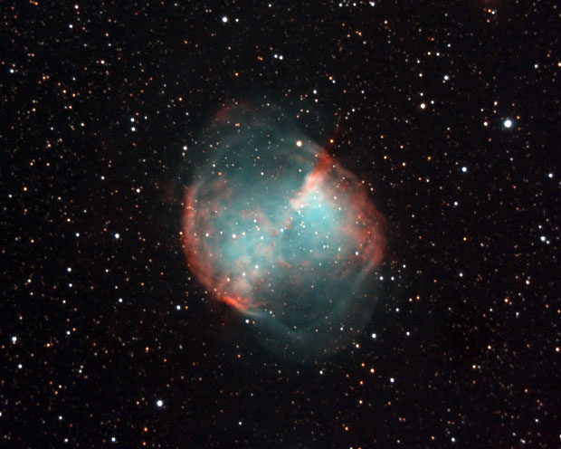 Messier 27 - Dumbell Nebula